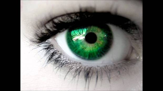 Ojo verde fotografía de internet