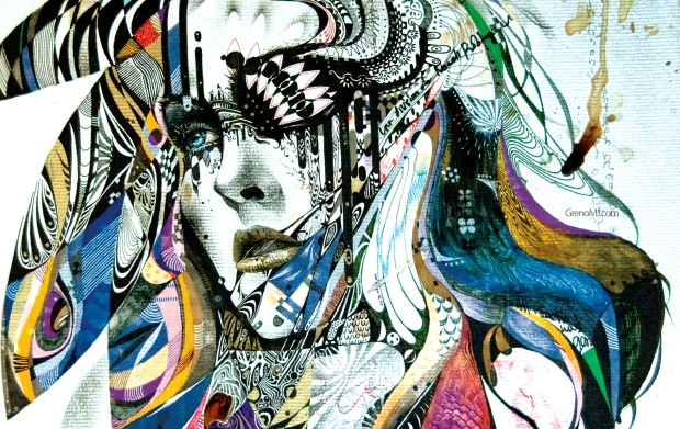 ARTISTA MINJAE LEE_retrato mujeres_arte pop_handmade